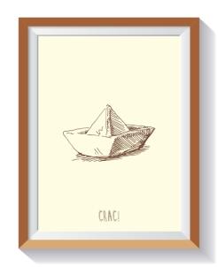 colección niños barco