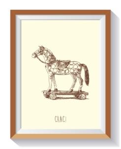 colección niños caballo