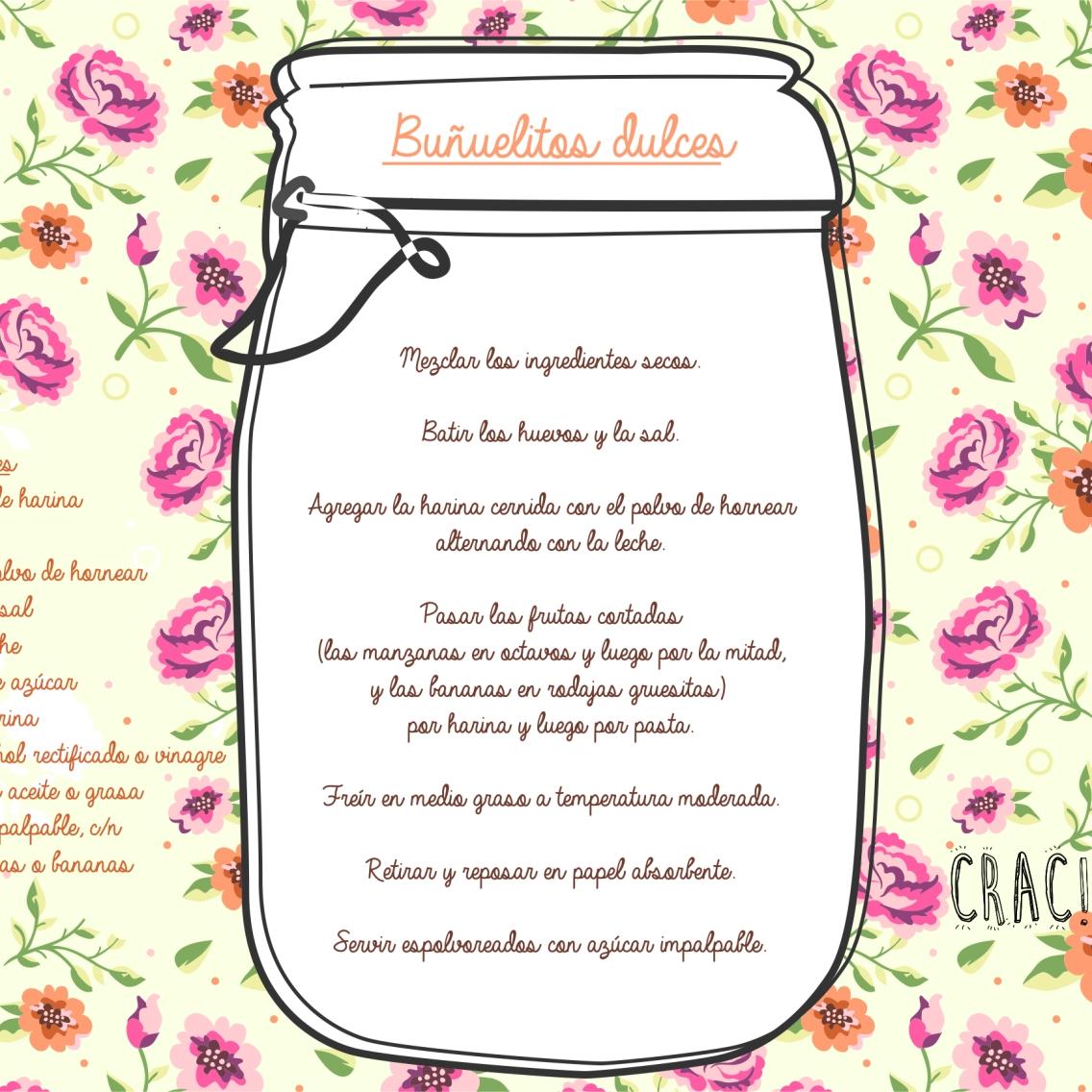 Buñuelitos dulces