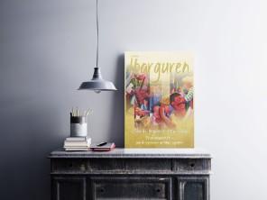 Afiche exposición de cuadros