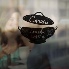 diseño de logo Caracú