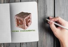 Diseño de logotipo para Piedra Fundamental