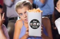 Diseño de logotipo para snack del cine shopping Paysandú