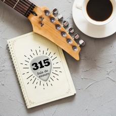 Diseño de logotipo para 315, sala de ensayo