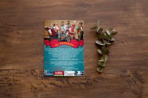 Programa de mano - obra de teatro El Progreso