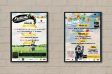 Afiches festival de Unipersonales 2016