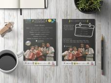 Programas de mano Bus Turístico 2017
