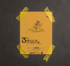 Afiche festival de Unipersonales