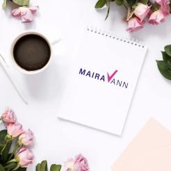 diseño de logo Maira Vann
