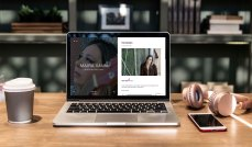 Sitio web para la cantautora Maira Vann