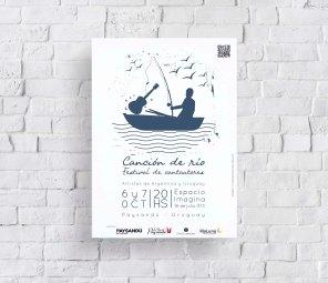 Afiche Festival Canción de río