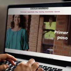 Sitio web Cecilia Marrero